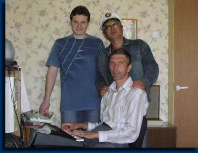 Николай Козлов, Борис Степанов, Сергей Степанов