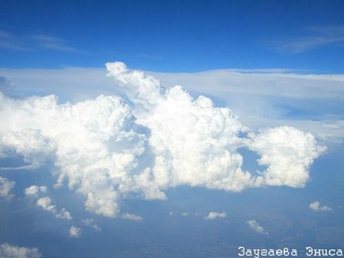 Поплыву белым облаком